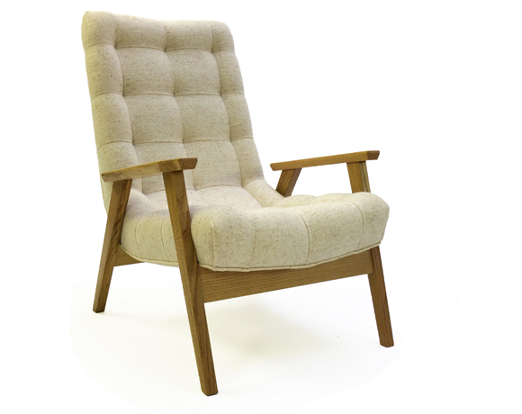 Acorn One Seater in Oak small2
