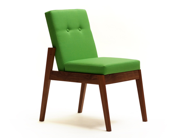 contemporary wooden dining chair acorn 8