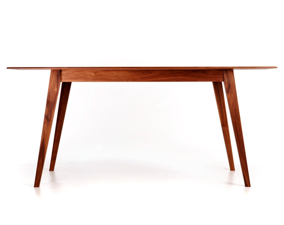 contemporary wooden dining table acorn 2