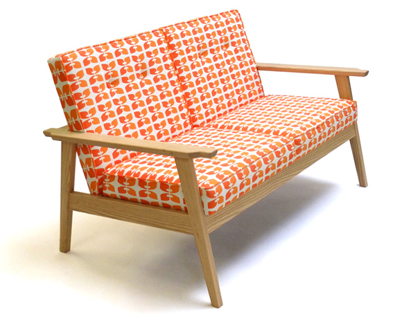 contemporary wooden frame sofa beacon 7