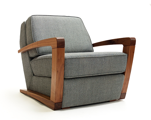 web Kustom Armchair three qtrs